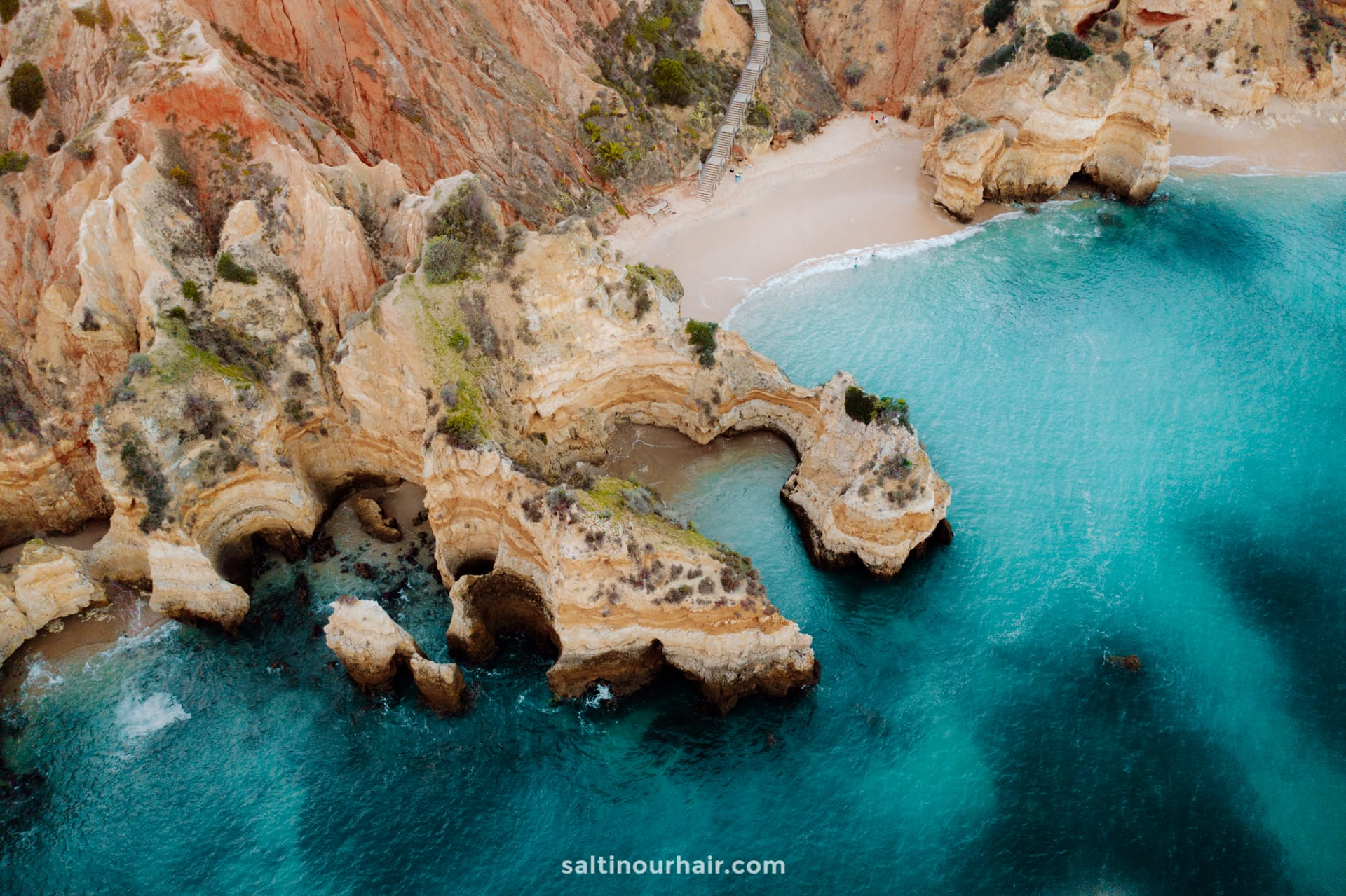 algarve most beautiful beaches Praia do Camilo