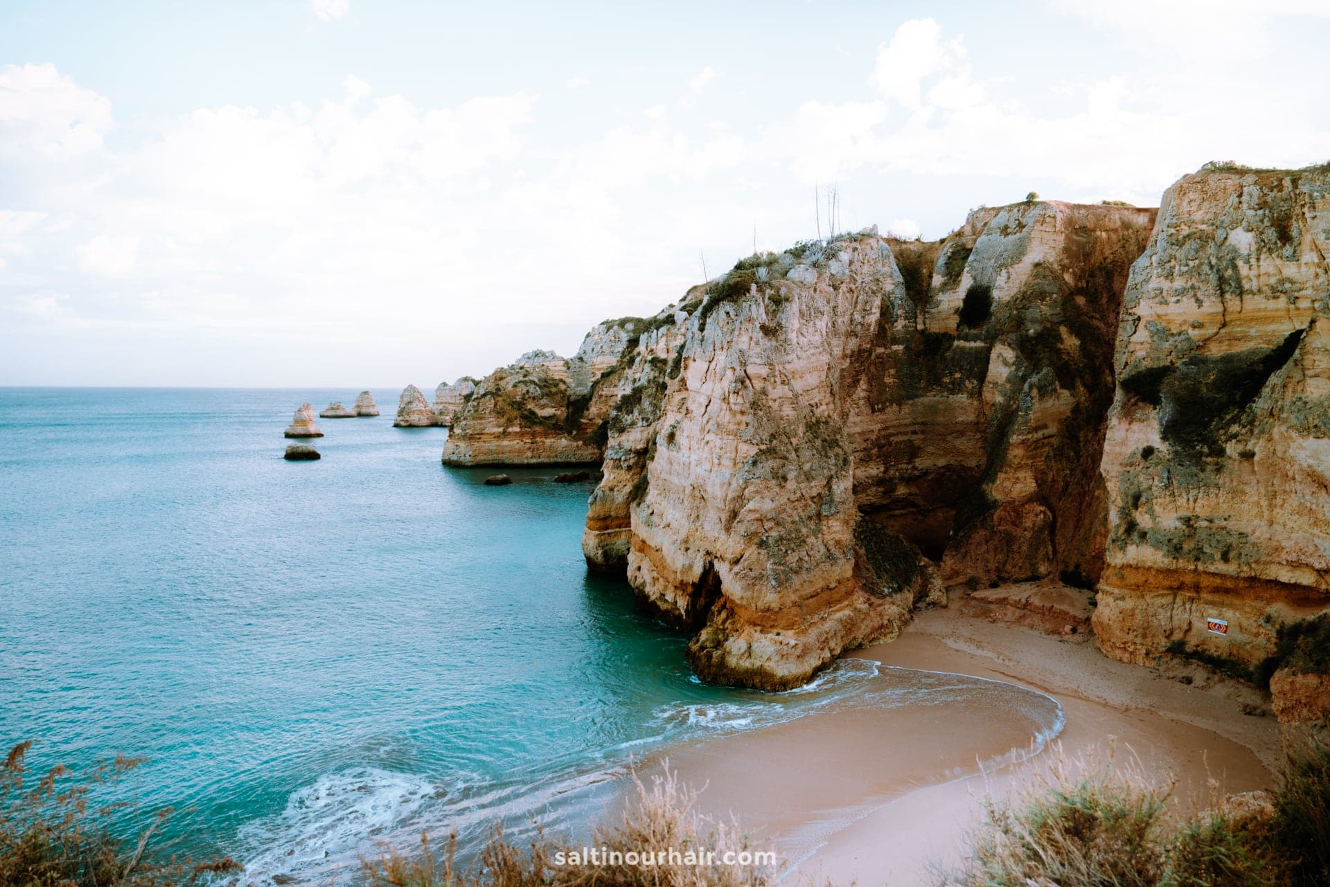 algarve portugal beaches Praia de Dona Ana
