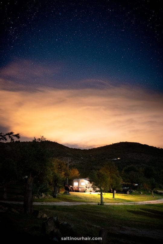 best campsite campervan portugal