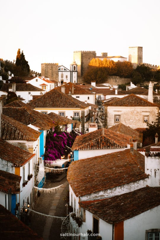 obidos portugal streets