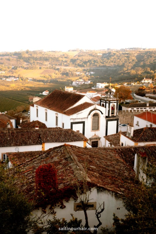 obidos portugal things to do church